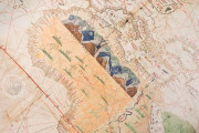 Geocarta Nautica Universale (1523) by Amerigo Vespucci, Turin, Biblioteca Reale di Torino − Photo 4