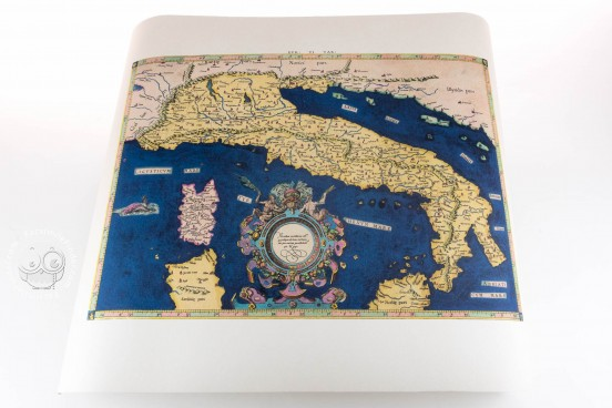 Italy's Ptolemaic Chart − Photo 1