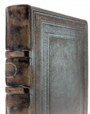 Oxford Menologion, Ms. Gr. th. f. 1 - Bodleian Library (Oxford, United Kingdom), Carefully crafted spine in the facsimile edition