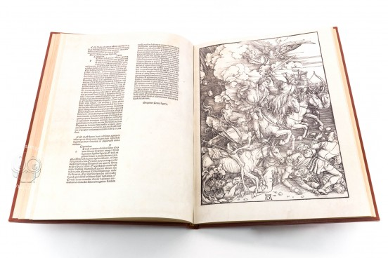 Apocalypse with Pictures by Albrecht Dürer, Incunable nº 1 - Biblioteca Nacional de España (Madrid, Spain) − photo 1
