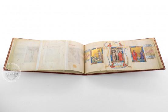 Golden Bible - Biblia Pauperum, Kings MS 5 - British Library (London, United Kingdom) − photo 1