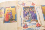 Golden Bible - Biblia Pauperum, Kings MS 5 - British Library (London, United Kingdom) − photo 17