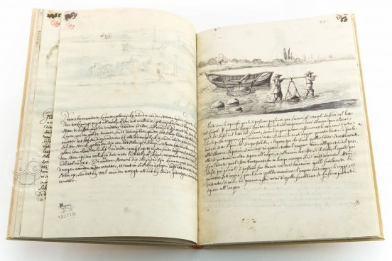 How to make the Tiber Navigable from Perugia to Rome, 34K 16 (Cors. 1227) - Biblioteca dell'Accademia Nazionale dei Lincei e Corsiniana (Rome, Italy) − photo 1