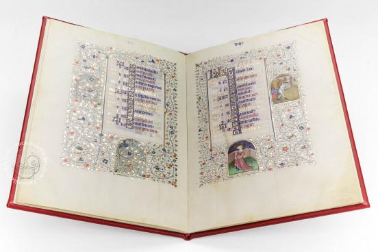 Calendario del Livres de Laudes et Dèvotions, JB. II. 21Bis - Archivio di Stato di Torino - Museo dell'Archivio di Corte (Turin, Italy) − photo 1