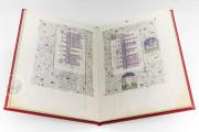 Calendario del Livres de Laudes et Dèvotions, JB. II. 21Bis - Archivio di Stato di Torino - Museo dell'Archivio di Corte (Turin, Italy) − photo 4