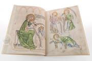 Biblia Pauperum: Apocalypsis: The Weimar Manuscript , Weimar, Herzogin Anna Amalia Bibliothek, Cod. Fol. max. 4 − Photo 3
