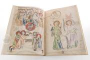 Biblia Pauperum: Apocalypsis: The Weimar Manuscript , Weimar, Herzogin Anna Amalia Bibliothek, Cod. Fol. max. 4 − Photo 4