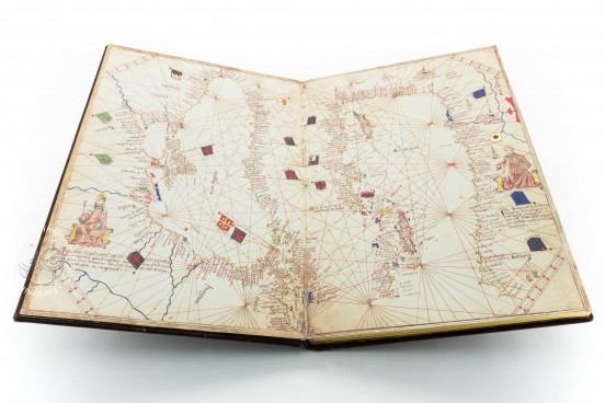 Atlas of Andrea Benincasa, Ms. latin 81 - Bibliothèque de l'Université de Genève (Geneva, Switzerland) − photo 1