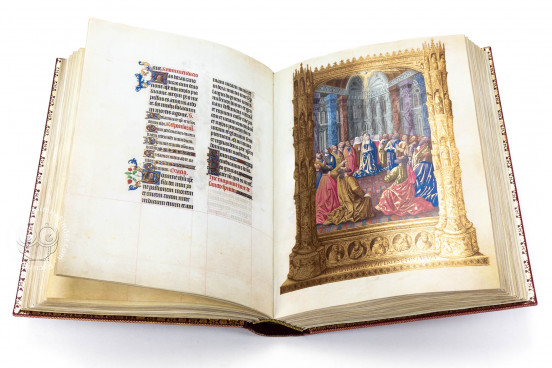 Les Tres Riches Heures of the Duke of Berry, Ms. 65 - Musee Conde (Chantilly, France), The 2011 Franco Cosimo Panini edition reproduces the entire manuscript bound in Morocco leather