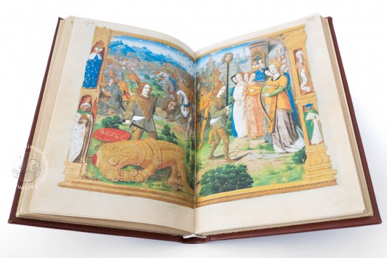 Book of Hours of Charles V, Madrid, Biblioteca Nacional de España, Cod. Vitr. 24‐3 − Photo 1