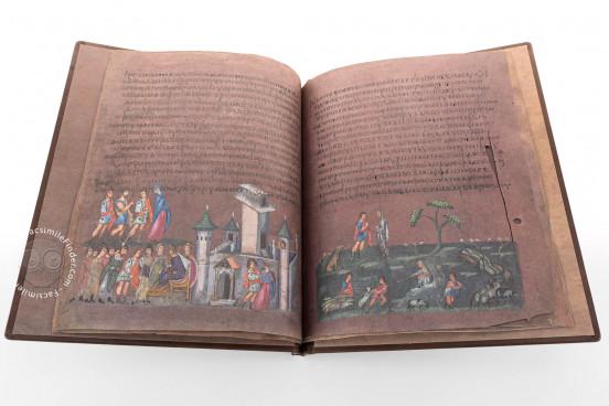 Vienna Genesis, Vienna, Österreichische Nationalbibliothek, Codex Theol. Gr. 31 − Photo 1