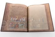 Vienna Genesis, Vienna, Österreichische Nationalbibliothek, Codex Theol. Gr. 31, Part of the print-run is bound in cabra leather