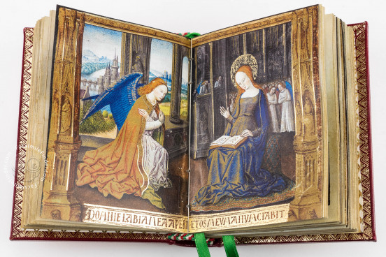 Book of Hours of Guyot Le Peley, Troyes, Bibliothèque Municipale de Troyes, Ms. 3901 − Photo 1