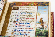 Book of Hours of Guyot Le Peley, Troyes, Bibliothèque Municipale de Troyes, Ms. 3901 − Photo 13