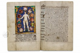 Calendar of Albert Glockendon from 1526 Facsimile Edition