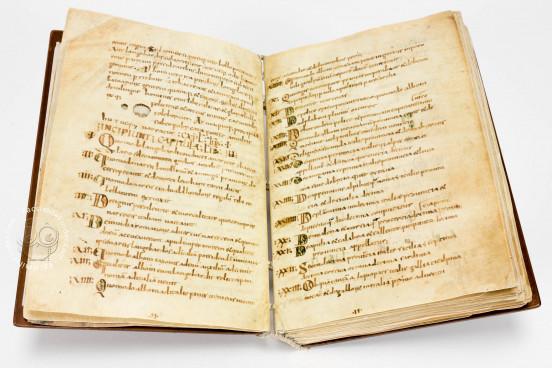 Historia Langobardorum, Cod. XXVIII - Museo Archeologico Nazionale (Cividale del Friuli, Italy), Opening of the facsimile