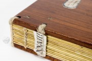 Historia Langobardorum, Cod. XXVIII - Museo Archeologico Nazionale (Cividale del Friuli, Italy), Naked binding with shelfmark (XXVIII)