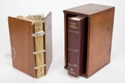 Historia Langobardorum, Cod. XXVIII - Museo Archeologico Nazionale (Cividale del Friuli, Italy), Set of facsimile, commentary, and wooden case