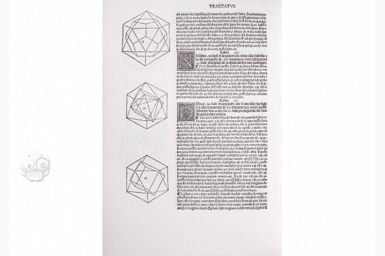 Divina Proportione : Opera a Tutti Gli Ingegni Perspicaci e Curi A Res. 12/2/07 - Biblioteca de la Universidad de Sevilla (Seville, Spain)