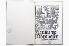 Vida de Sanct Onofre Facsimile Edition
