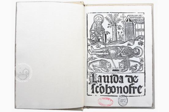 Vida de Sanct Onofre CF/3(1) - Biblioteca General e Historica de la Universidad (Valencia, Spain)