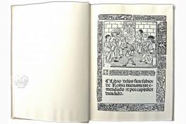 Libro de los Siete Sabios de Roma Facsimile Edition