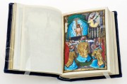 Munich-Montserrat Hours Ms. 53 › Biblioteca de la Abadía (Montserrat, Spain) Ms. Lat. 23638 › Bayerische Staatsbibliothek (Munich, Germany) Ms. 3 (84.ML.83) › Getty Museum (Los Angeles, USA) Full page miniature in the Munich Montserrat Hours