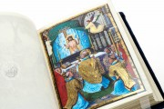 Munich-Montserrat Hours Ms. 53 › Biblioteca de la Abadía (Montserrat, Spain) Ms. Lat. 23638 › Bayerische Staatsbibliothek (Munich, Germany) Ms. 3 (84.ML.83) › Getty Museum (Los Angeles, USA) Detail of a full-page miniature by Simon Bening