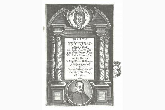 Origen y Dignidad de la Caça, R/29683 - Biblioteca Nacional de Espana (Madrid, Spain) − Photo 1