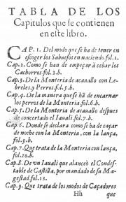 Origen y Dignidad de la Caça, R/29683 - Biblioteca Nacional de Espana (Madrid, Spain) − Photo 8