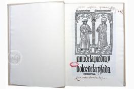 Cura de la Piedra y Dolor de la Ijada y Colica Rrenal Facsimile Edition