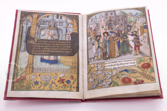 Flemish Chronicle of Philip the Fair, Yates Thompson 32 - British Library (London, United Kingdom) − photo 1