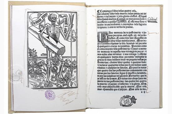 Cordial de las Cuatro Cosas Postrimeras, I/522 - Biblioteca Nacional de España (Madrid, Spain) − photo 1