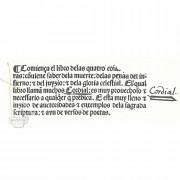 Cordial de las Cuatro Cosas Postrimeras, I/522 - Biblioteca Nacional de España (Madrid, Spain) − photo 10
