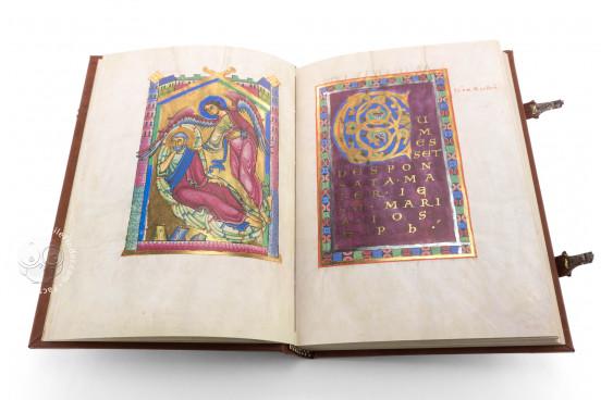 St. Peter Pericopes from St. Erentrud, Clm 15903 - Bayerische Staatsbibliothek (Munich, Germany) − photo 1