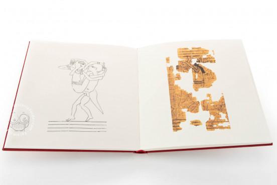 Erotic Papyrus, N. Inv. C. 2031 (CGT 55001) - Museo Egizio (Turin, Italy) Museo Egizio (Turin, Italy) − photo 1
