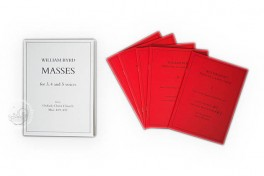 William Byrd: Masses for 3, 4 and 5 voices Facsimile Edition