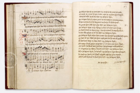 Henry VIII Book, London, British Library, Add. MS 31922 − Photo 1