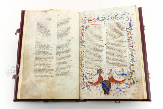 Divine Comedy - Dante Gradenighiano, ms. SC-MS. 1162 (D II 41) - Biblioteca Civica Gambalunga (Rimini, Italy) − photo 1