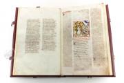 Divine Comedy - Dante Gradenighiano, ms. SC-MS. 1162 (D II 41) - Biblioteca Civica Gambalunga (Rimini, Italy) − photo 5