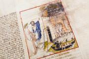 Divine Comedy - Dante Gradenighiano, ms. SC-MS. 1162 (D II 41) - Biblioteca Civica Gambalunga (Rimini, Italy) − photo 8