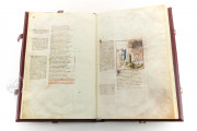 Divine Comedy - Dante Gradenighiano, ms. SC-MS. 1162 (D II 41) - Biblioteca Civica Gambalunga (Rimini, Italy) − photo 9
