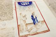 Divine Comedy - Dante Gradenighiano, ms. SC-MS. 1162 (D II 41) - Biblioteca Civica Gambalunga (Rimini, Italy) − photo 10