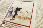 Divine Comedy - Dante Gradenighiano, ms. SC-MS. 1162 (D II 41) - Biblioteca Civica Gambalunga (Rimini, Italy) − photo 15