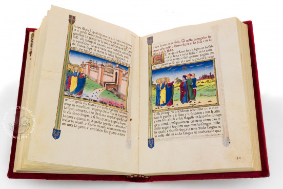Leggendario Sforza-Savoia, Turin, Biblioteca Reale di Torino, Cod. Varia 124 − Photo 1