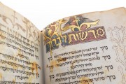 Catalan Micrography Mahzor, MS Heb 6527 › National Library of Israel (Jerusalem, Israel) − Photo 5