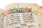 Catalan Micrography Mahzor, Jerusalem, National Library of Israel, MS Heb 6527 − Photo 12