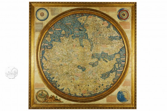 Fra Mauro Map, Biblioteca Nazionale Marciana (Venice, Italy) − photo 1