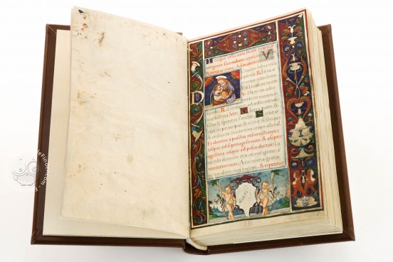 Hours of Anna Sforza, Modena, Biblioteca Estense Universitaria, Lat. 74 = alfa Q. 9. 31 − Photo 1