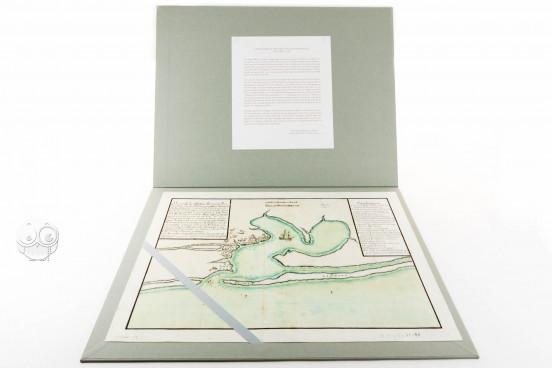 Mapa de Pensacola , Simancas, Archivo General de Simancas, AGS, MPD, 12-90 − Photo 1